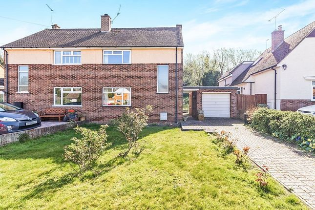 Thumbnail Semi-detached house for sale in Springcroft, Hartley, Longfield