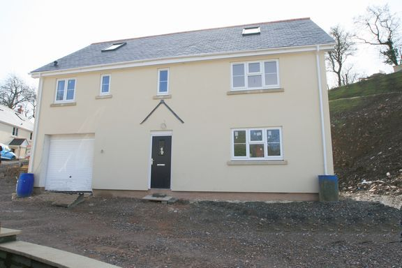 Thumbnail Detached house for sale in Ashleigh Park, Bampton, Tiverton