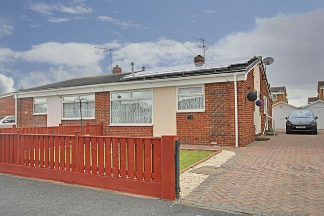 Thumbnail Semi-detached bungalow for sale in Holcroft Garth, Hedon, Hull