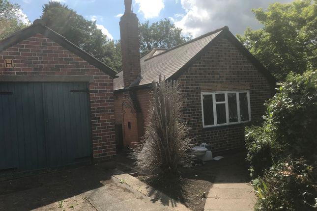 Thumbnail Detached bungalow for sale in Greendale Road, Glen Parva