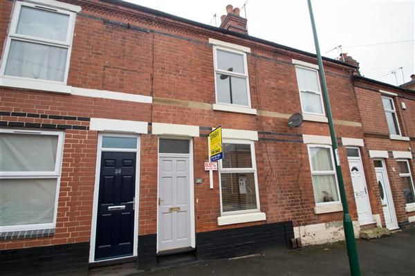 Thumbnail Terraced house for sale in Shrewsbury Road, Sneinton, Nottingham