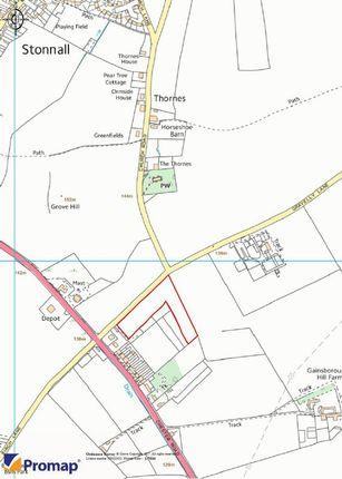 Thumbnail Land for sale in Gravelly Lane, Stonnall, Shenstone, Walsall