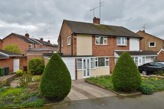 Thumbnail Semi-detached house for sale in The Holmes, Wolverhampton