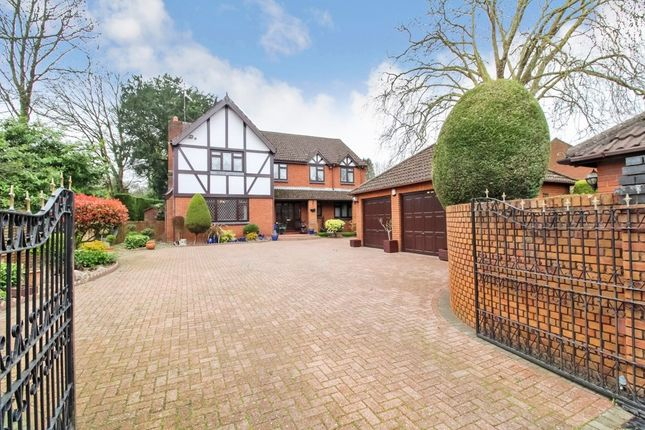 Thumbnail Detached house for sale in Churchmead, Bassaleg, Newport