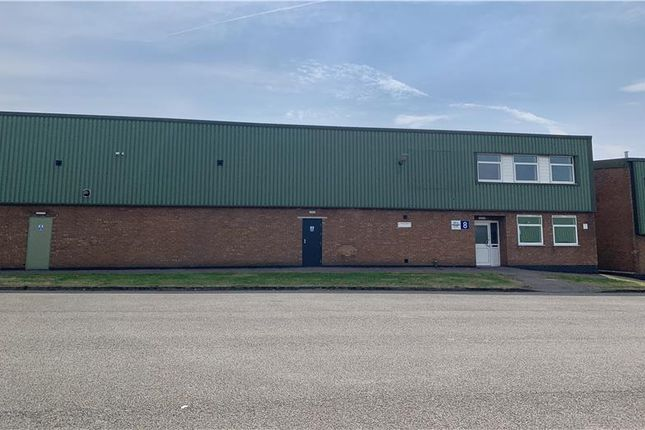 Thumbnail Industrial to let in Unit 8 Sketchley Meadows, Sketchley Lane Industrial Estate, Hinckley, Leicestershire
