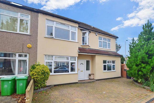 Thumbnail Semi-detached house for sale in Grove Park Road, Rainham, Essex