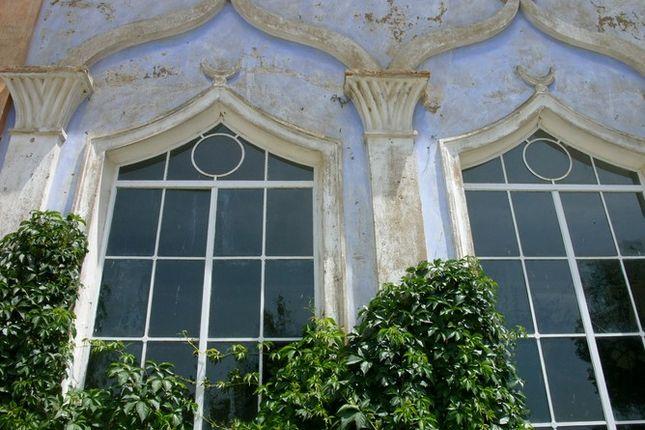 Windows of Villa Fontana, Cortona, Tuscany