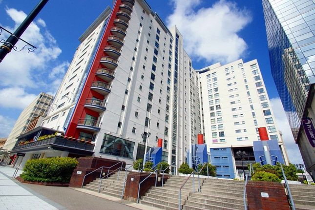 Thumbnail Flat to rent in Churchill Way, Cardiff