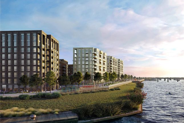 Thumbnail Flat for sale in Upper Dock Walk, Docklands, London
