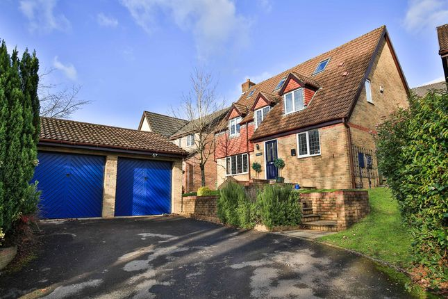 Thumbnail Detached house for sale in Heol Isaf Hendy, Miskin, Pontyclun