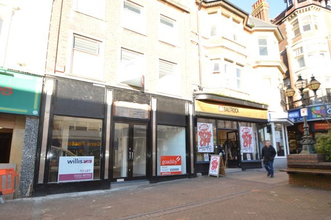 Retail premises to let in 79 Old Christchurch Road, Bournemouth