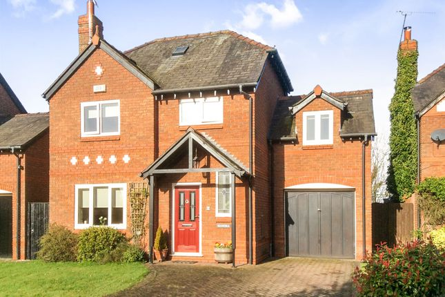 Thumbnail Detached house for sale in Castle Hill, Pulford, Chester