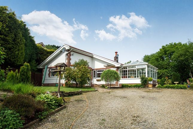 Thumbnail Detached bungalow for sale in Llandraw Woods, Pontypridd