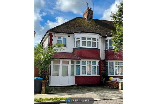 Thumbnail Semi-detached house to rent in Grasmere Avenue, Wembley