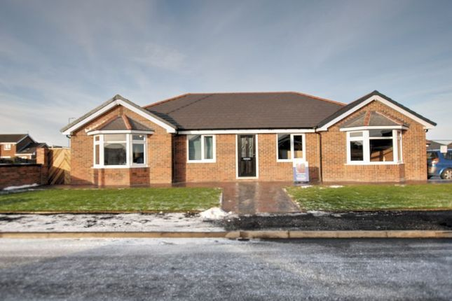 Thumbnail Detached bungalow for sale in Blenheim Court, Blyth