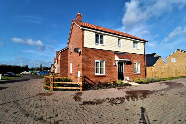 Thumbnail Detached house for sale in Huckle Close, Houghton Conquest
