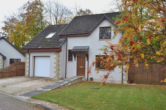 Thumbnail Detached house for sale in Balnageith Gardens, Forres