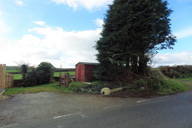 Thumbnail Land for sale in Land Adjoining The Old Post Office, Tresmeer, Launceston