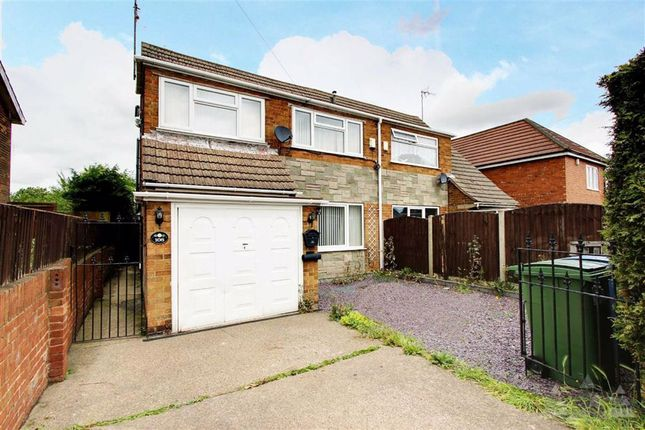 Thumbnail 3 bed semi-detached house for sale in Somersall Street, Mansfield, Nottinghamshire