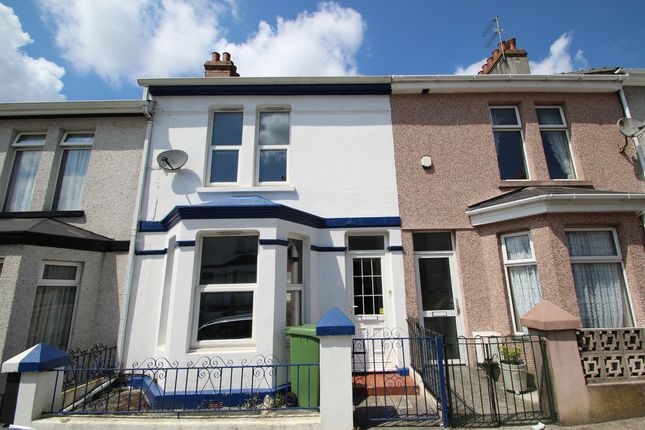 Thumbnail Terraced house for sale in Ferndale Avenue, Plymouth