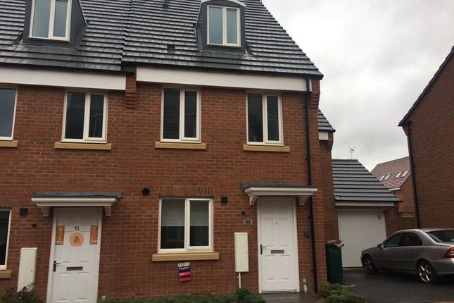 Thumbnail Semi-detached house to rent in Middlesex Road, Stoke Village