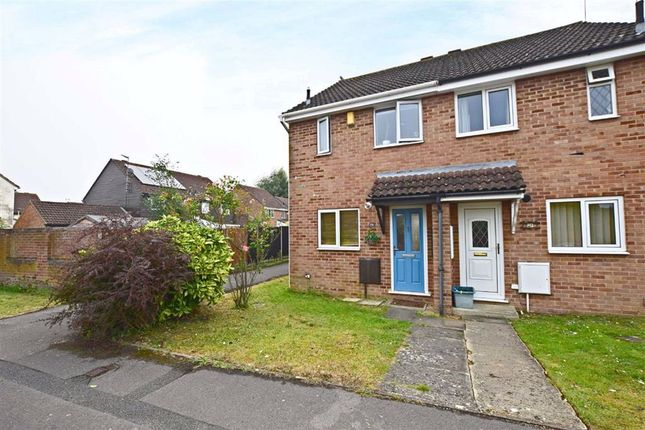 Thumbnail End terrace house for sale in Brionne Way, Longlevens, Gloucester