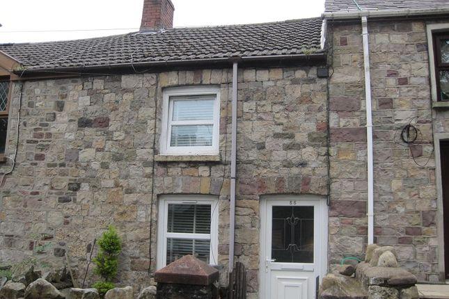 Thumbnail Terraced house to rent in Heol Giedd, Cwmgiedd, Ystradgynlais, Swansea, Powys.