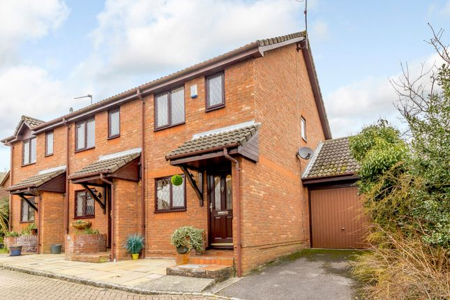 Thumbnail End terrace house for sale in Membury Close, Camberley