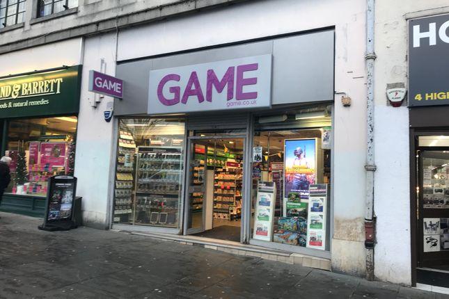Thumbnail Retail premises to let in High Street, Paisley