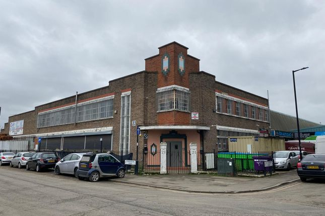 Industrial to let in Commercial Road, London