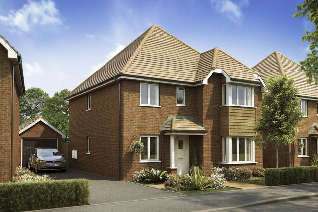 "Thumbnail Detached house for sale in ""Wroxham"" at Langmore Lane, Lindfield, Haywards Heath"