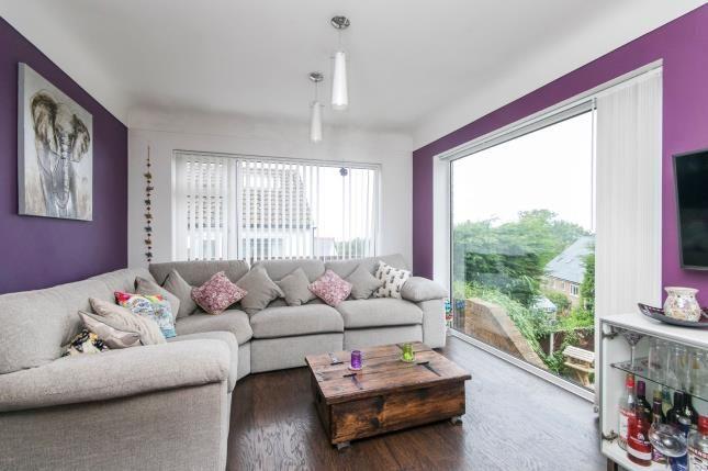 Lounge of The Brae, Prestatyn, Denbighshire, . LL19