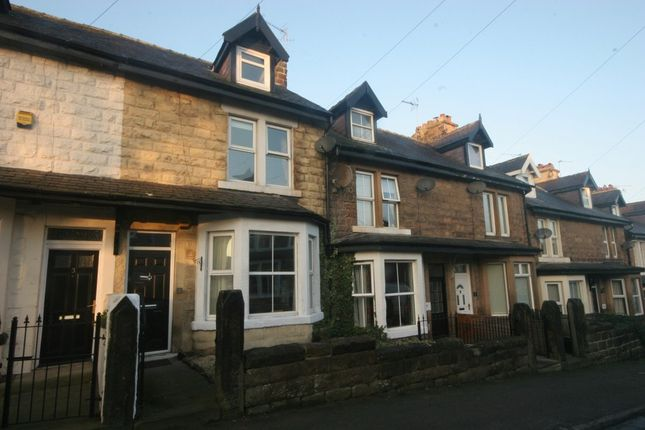 Thumbnail Terraced house to rent in North Lodge Avenue, Harrogate
