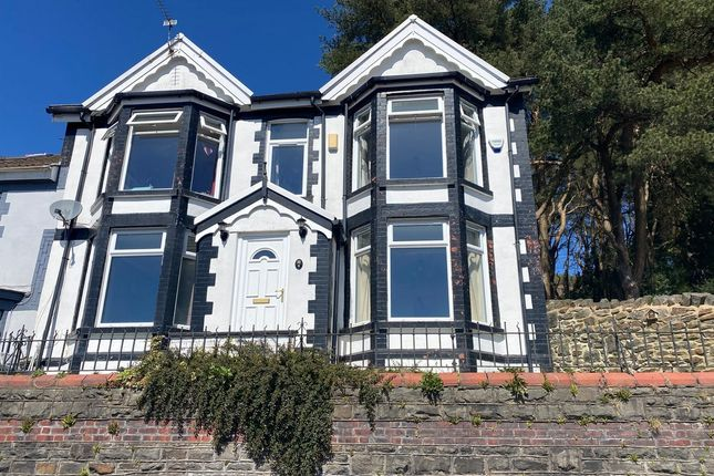 Thumbnail End terrace house for sale in Dan Y Graig Tonypandy -, Tonypandy