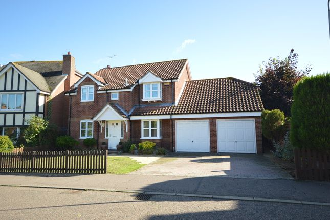 Thumbnail Detached house for sale in Grantley Close, Copford, Colchester