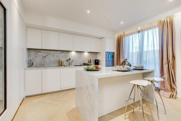 Kitchen of St Edmund's Terrace, Primrose Hill, London NW8