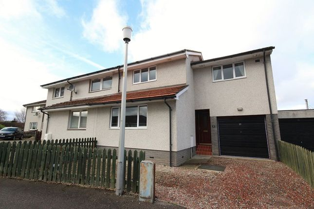 Thumbnail Semi-detached house for sale in 29 Birch Place, Culloden, Inverness.