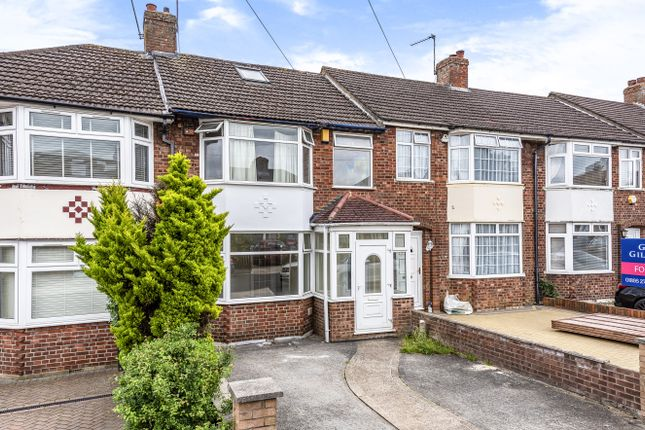 Thumbnail Terraced house to rent in Woodcroft Crescent, Hillingdon