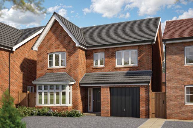 "Thumbnail Detached house for sale in ""The Alder"" at Silverwoods Way, Kidderminster"