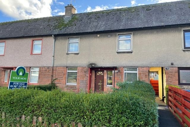 Thumbnail Terraced house for sale in Portland Drive, Dumfries