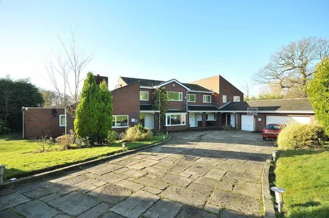 Thumbnail Detached house for sale in Lynwood, Hale, Altrincham, Greater Manchester