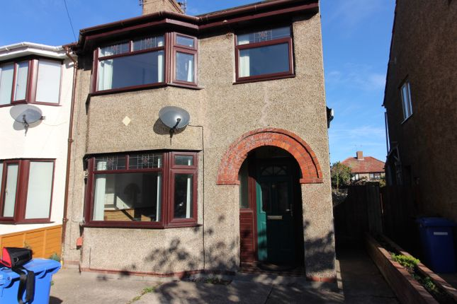 Thumbnail Semi-detached house to rent in Waveney Crescent, Lowestoft