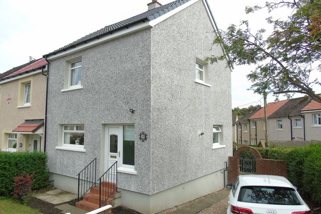 Thumbnail End terrace house for sale in Hillside Crescent, Barrowfield, Coatbridge