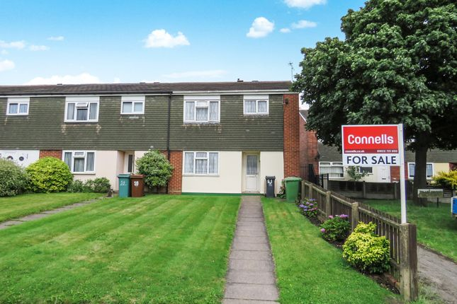 Thumbnail End terrace house for sale in Lilac Grove, Bentley, Walsall