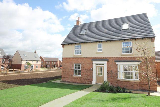 "Thumbnail Detached house for sale in ""Moorecroft"" at Tamora Close, Heathcote, Warwick"