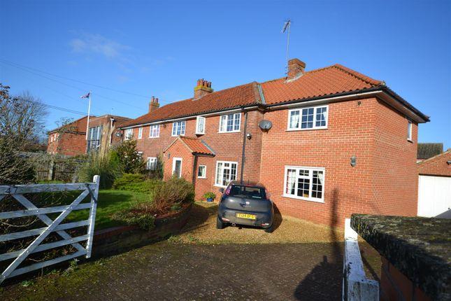 Thumbnail Semi-detached house for sale in Manor Road, Dersingham, King's Lynn