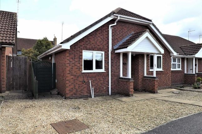 Thumbnail Semi-detached bungalow to rent in Lucetta Gardens, Spalding