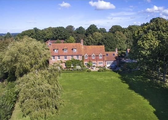 Thumbnail Detached house for sale in Hamstead Marshall, Newbury, Berkshire