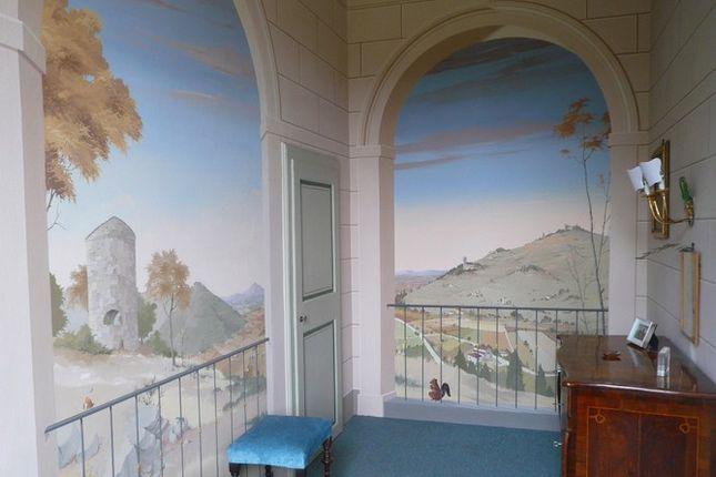 Murals of Villa Fontana, Cortona, Tuscany