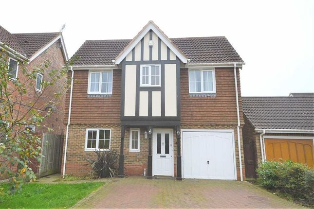 Thumbnail Detached house to rent in Haywain Close, Ashford, Kent